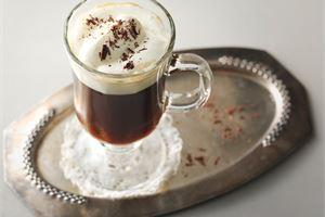 Kuuma suklaakahvi