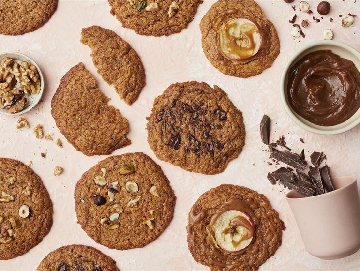 Neljän aineksen kanelicookiet
