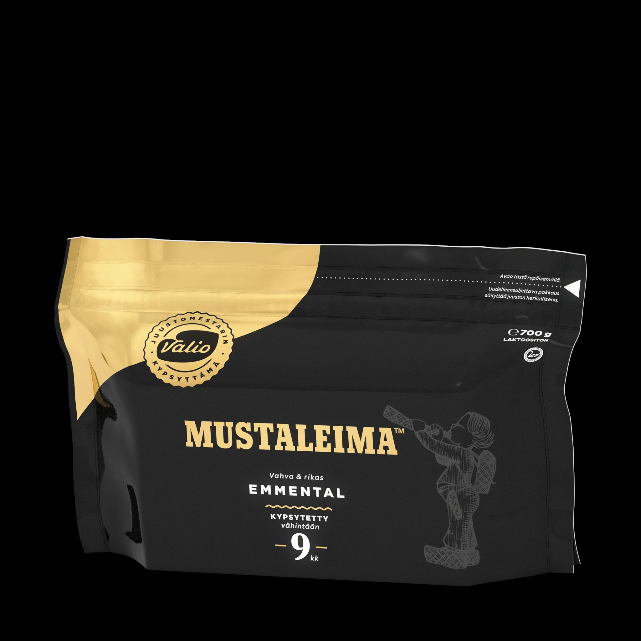 Valio Mustaleima™ emmental juusto