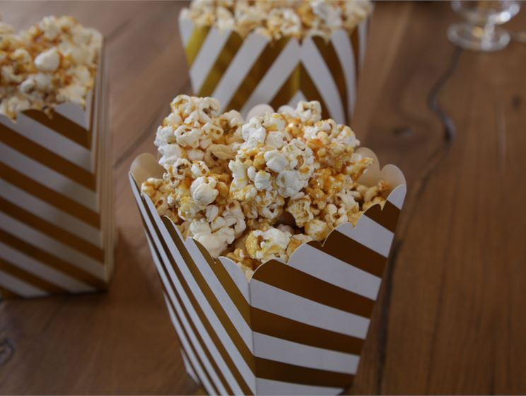 Teemu Laurellin karamellisoidut popcornit