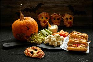 Suolaiset Halloween ruoat