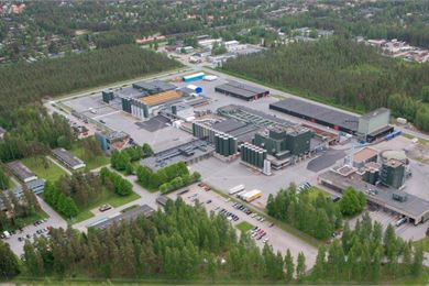 Valio's Seinäjoki plant is a cornucopia of milk products