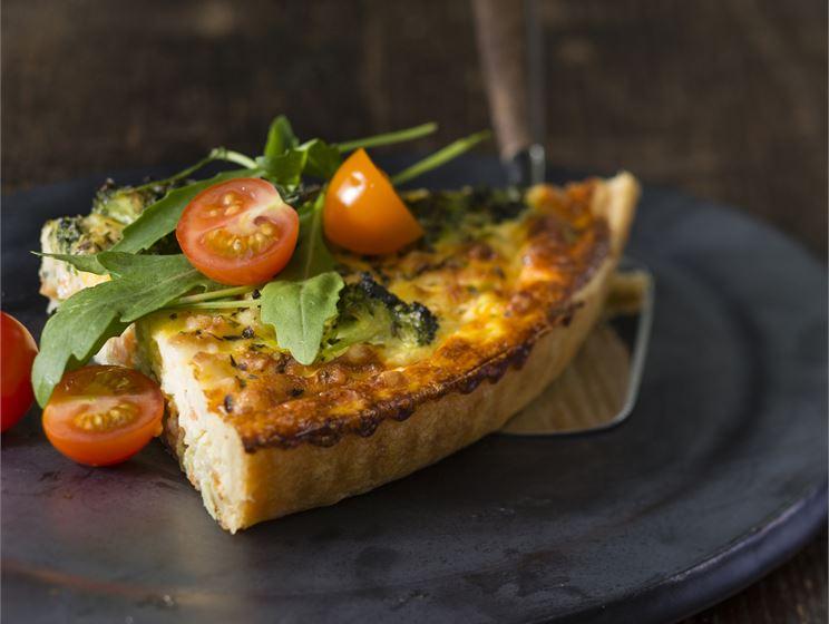 Laktosfri ost och skinkpaj