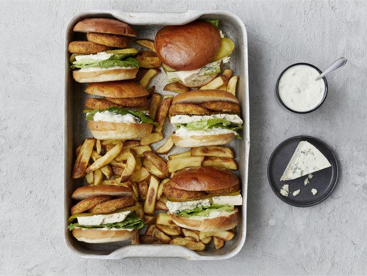 AURA-kasvisburgeri