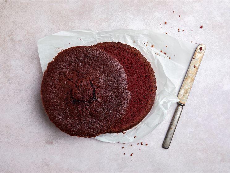 Red velvet -kakkupohja