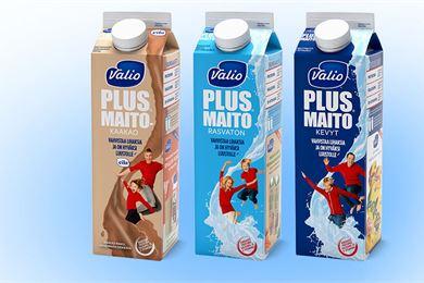 Entistä parempi maito - Valio Plus™ maito