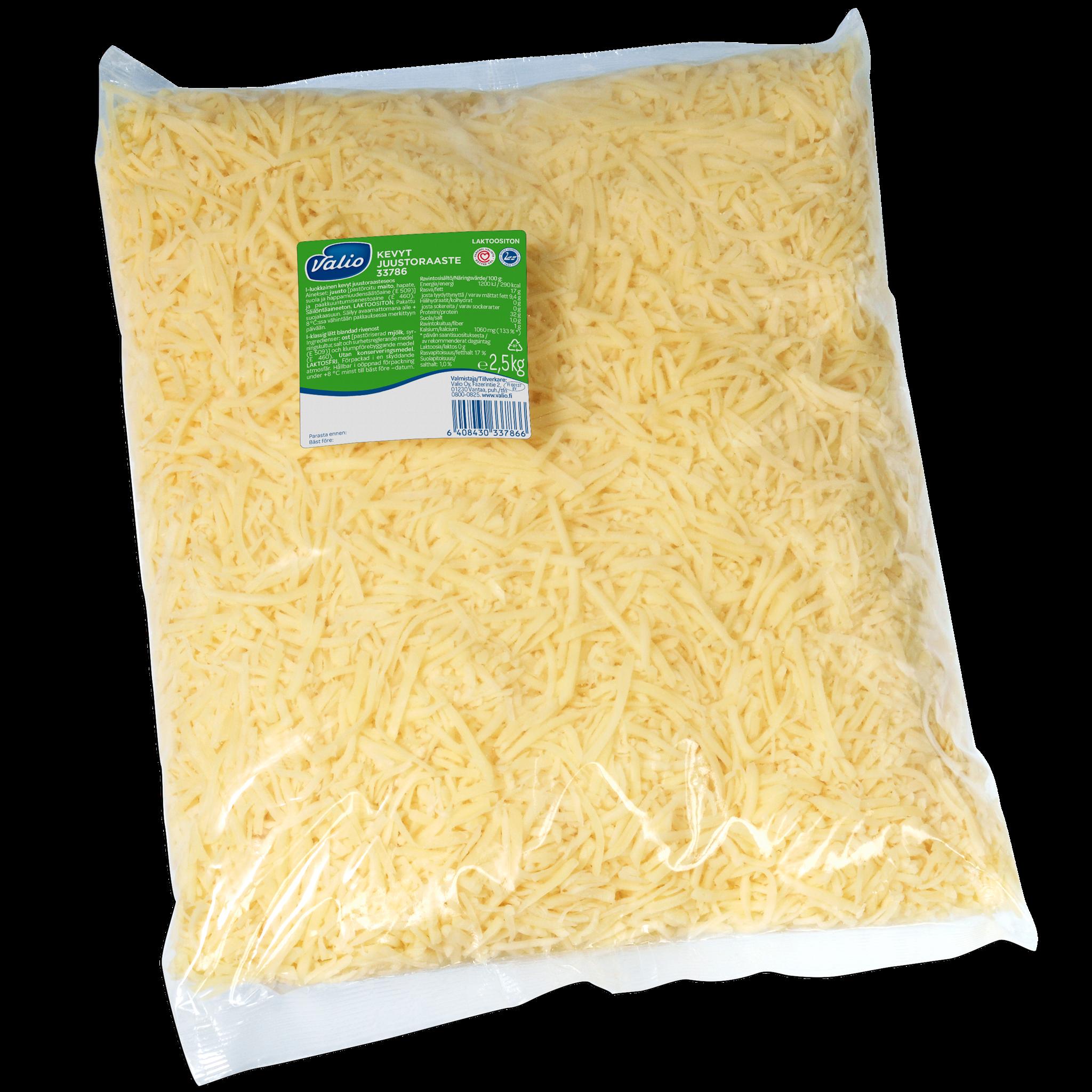 Valio kevyt juustoraaste