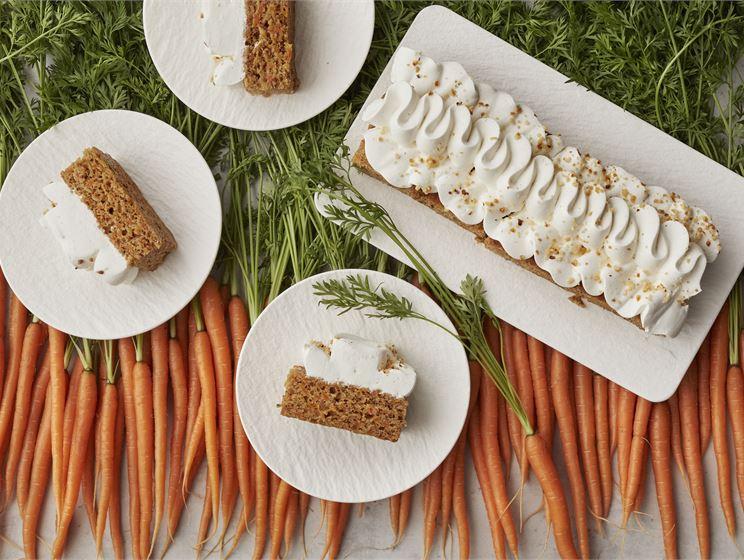 Vegaaninen porkkanakakku