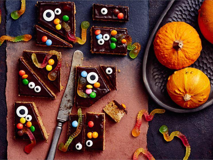Halloween mokkapalat