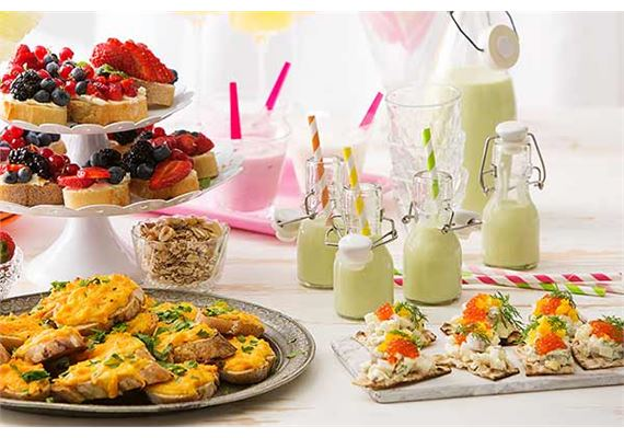 Vapun ja äitienpäivän leivonnaiset