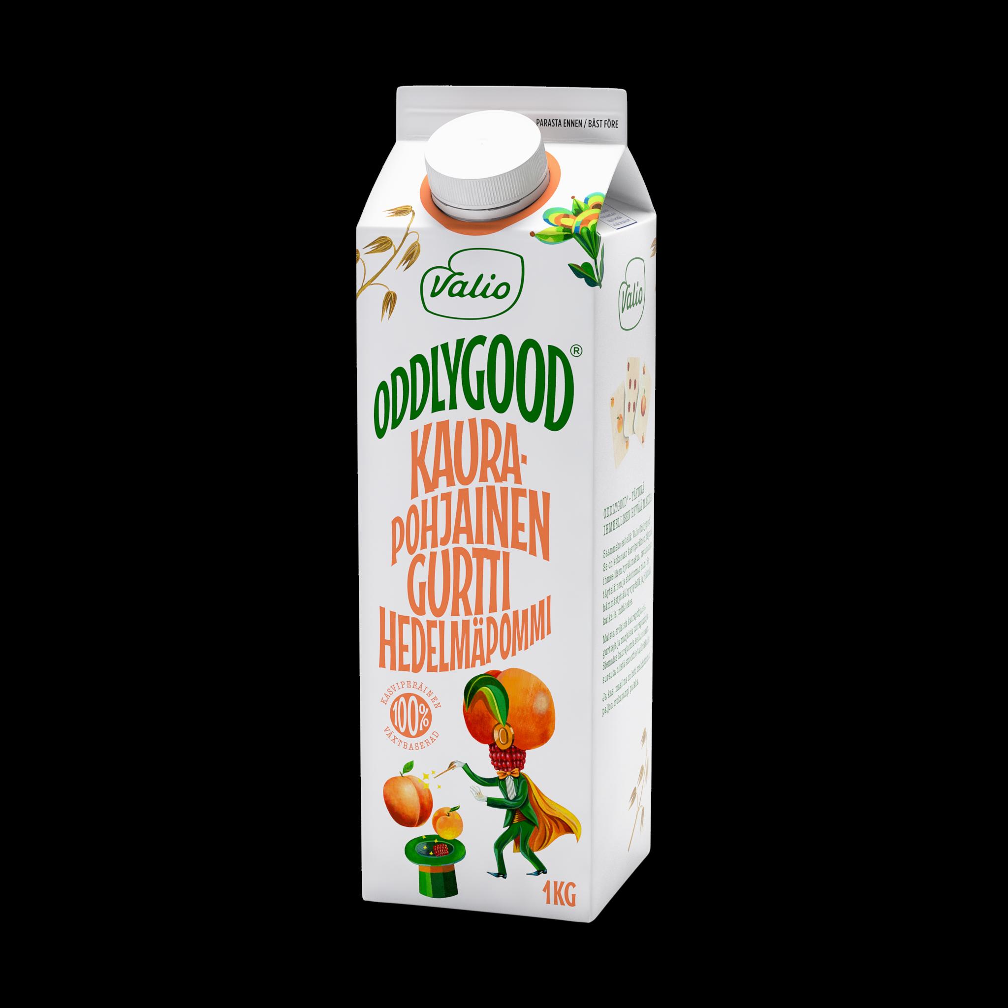 Valio Oddlygood® kaurapohjainen gurtti hedelmäpommi
