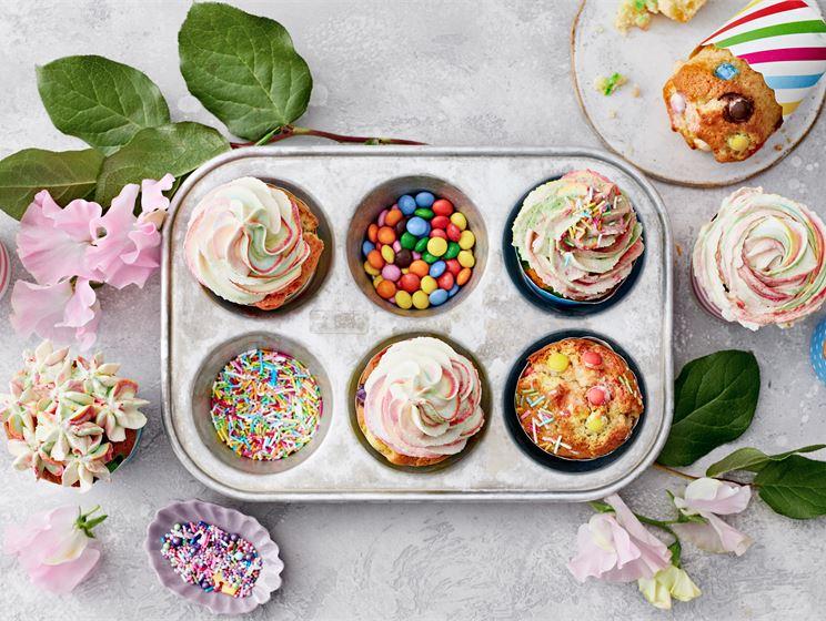 Muffinssit lastenjuhliin