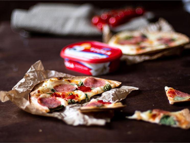 Tortilla pizzad