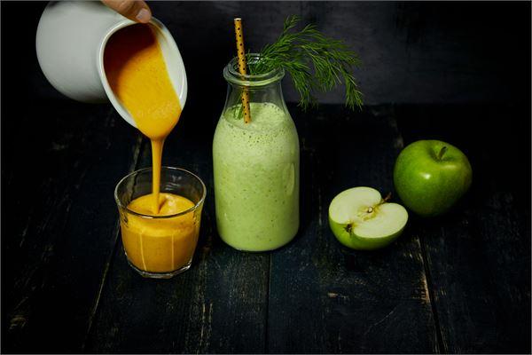 Omena-tillismoothie