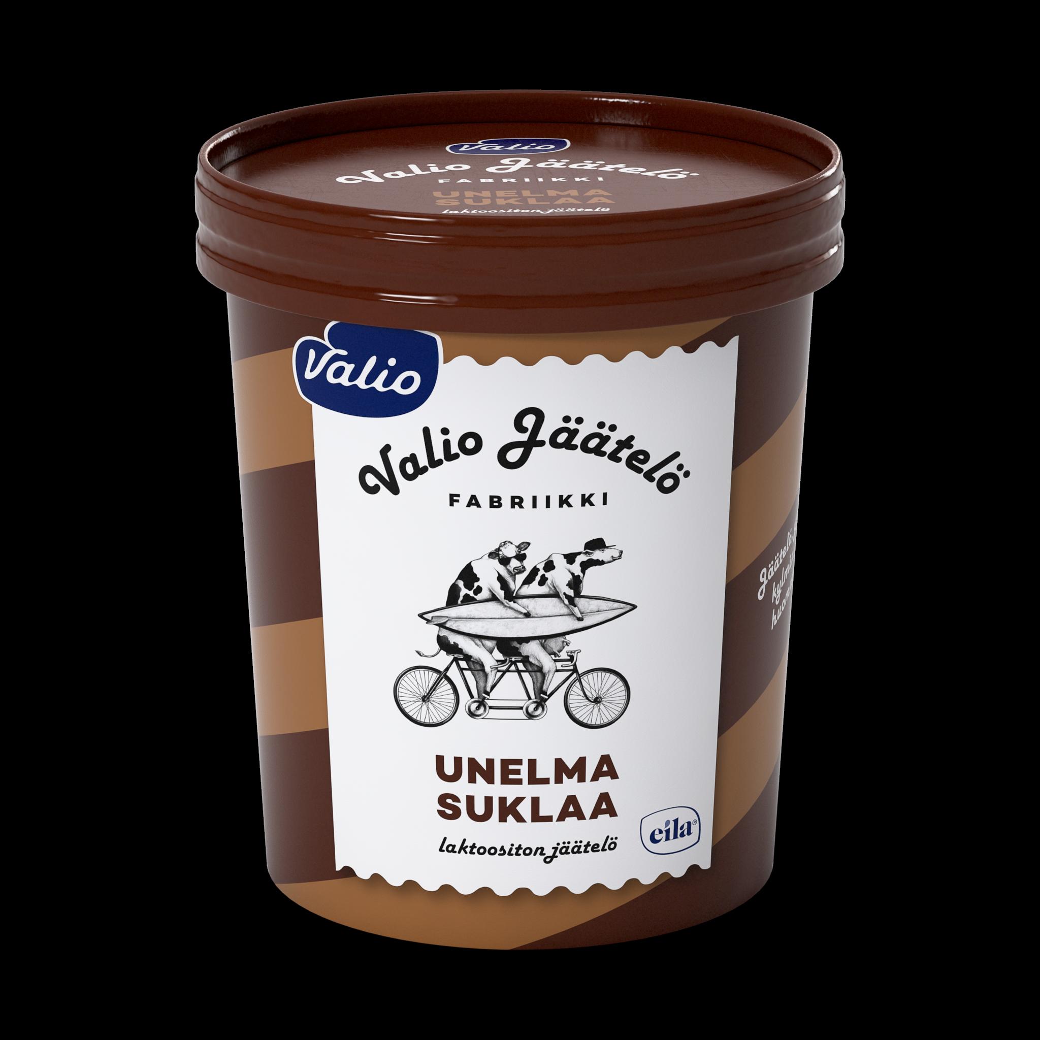 Valio jäätelö unelma suklaa laktoositon