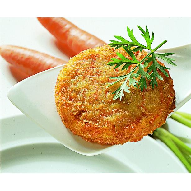 Valio porkkanapihvi paneroitu