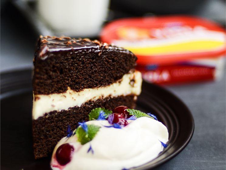 Šokolaadikook sulajuustukreemiga