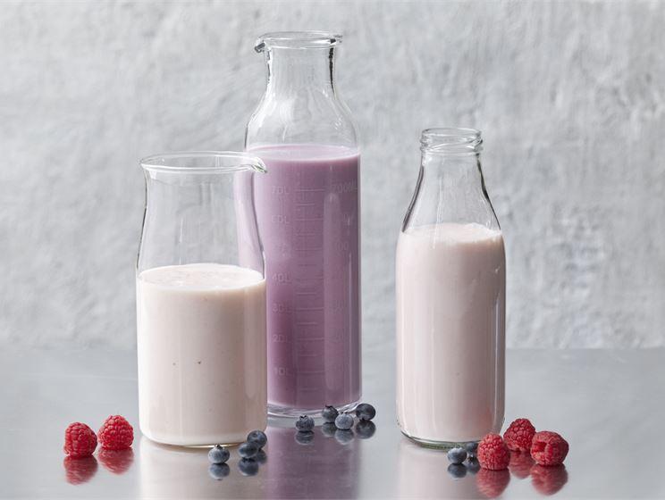 Helppo Vadelma-jogurttismoothie