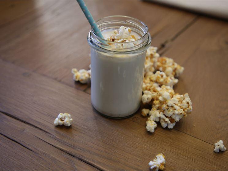 Teemu Laurellin caramel popcorn milkshake