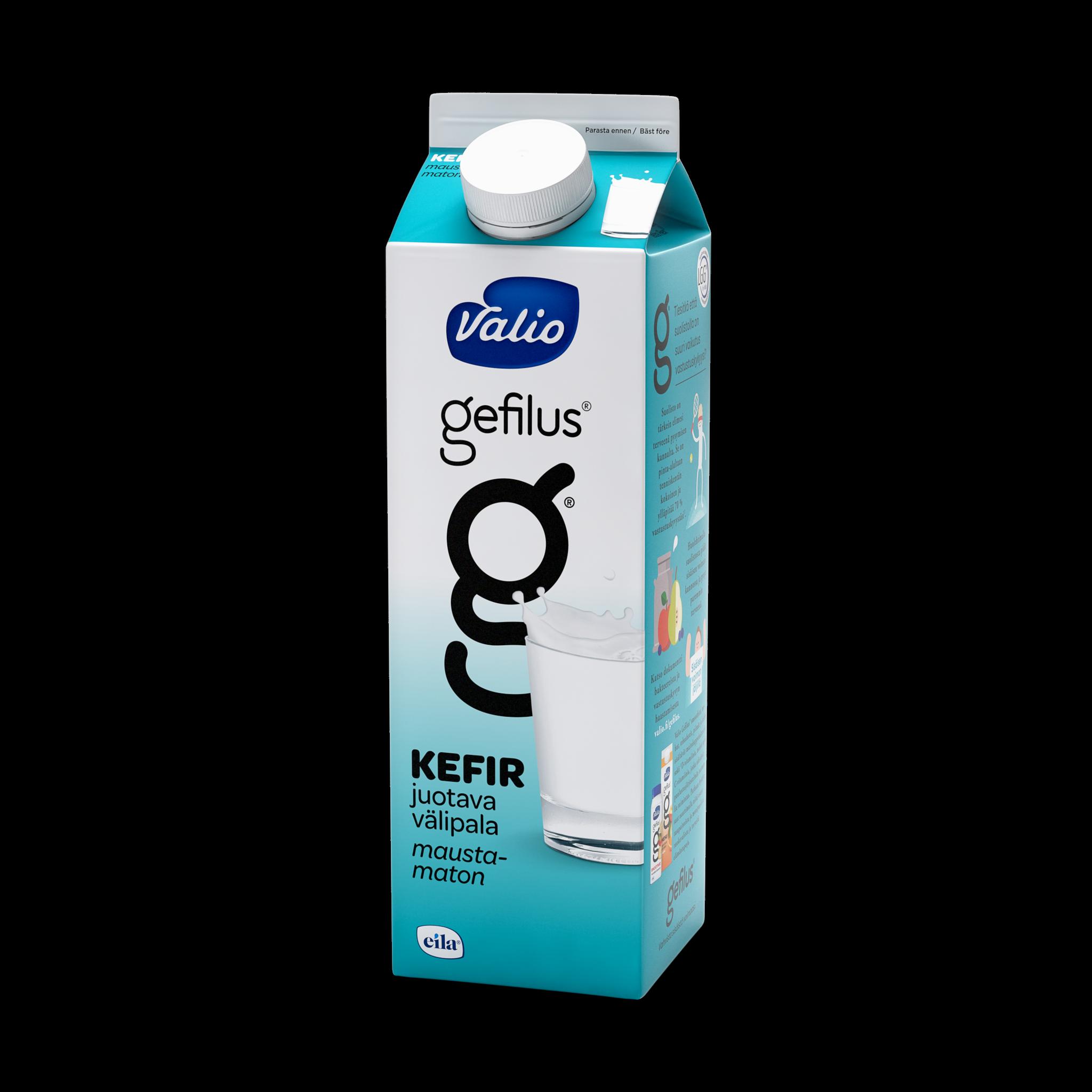 Valio Gefilus® Kefir maustamaton laktoositon