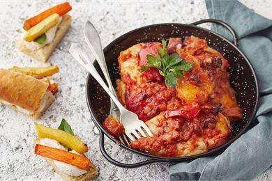 Välimeren maut ruoanlaitossa