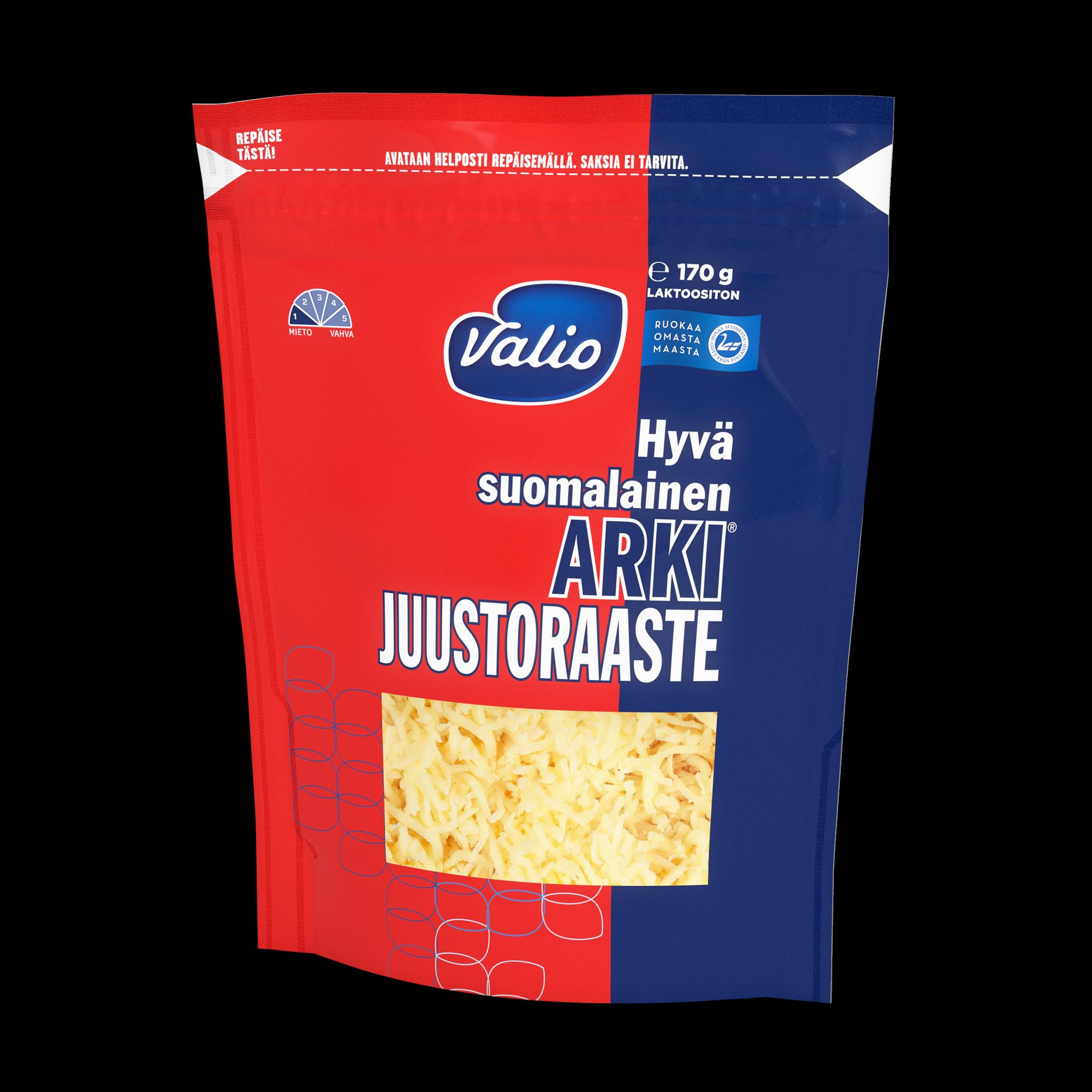 Valio Hyvä suomalainen Arki® juustoraaste