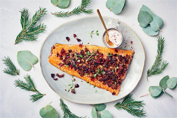 Kalapöytä on monen suosikki. Entä jos koko ateria olisi kalapainotteinen?
