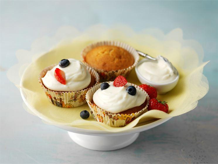 Kuorrutetut muffinit
