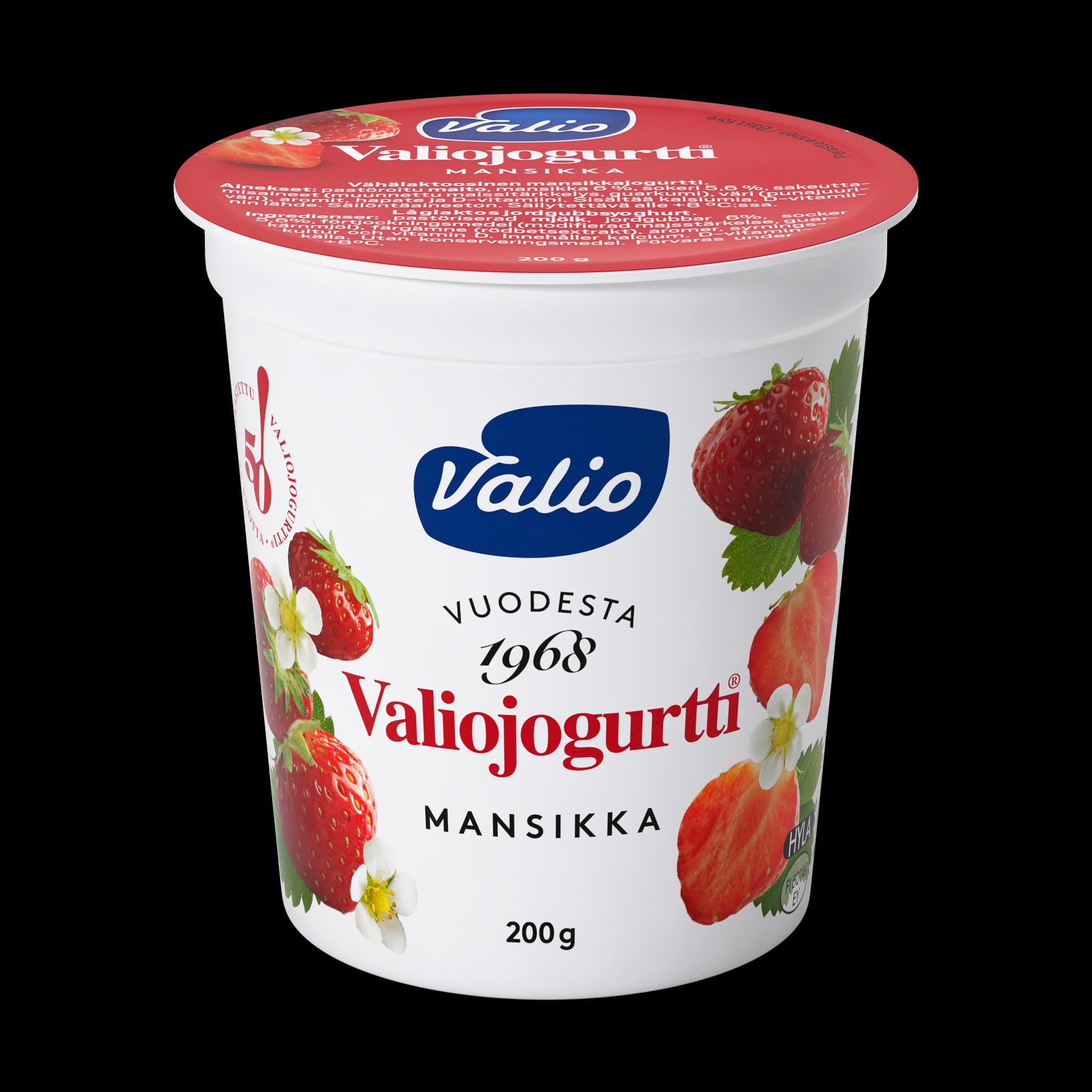 Valiojogurtti® mansikka HYLA®