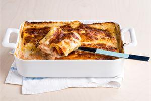 Lohi-lasagne