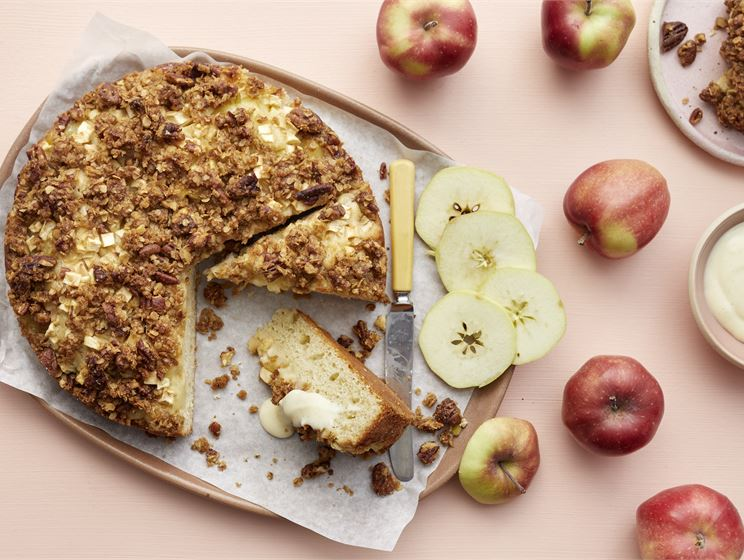 Omena-vaniljakakku