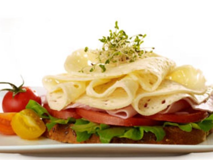 Light and Lacey Swiss Open Face Sandwich