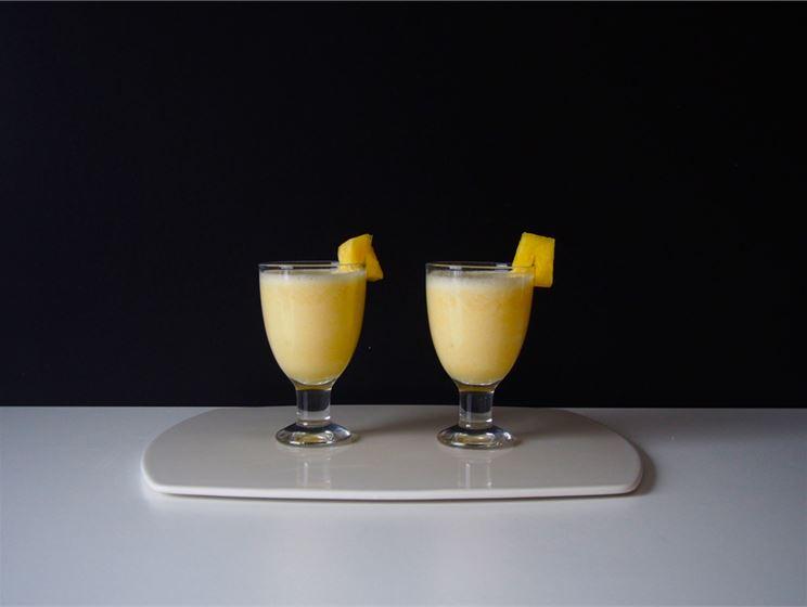 Pehmoinen ananas-smoothie