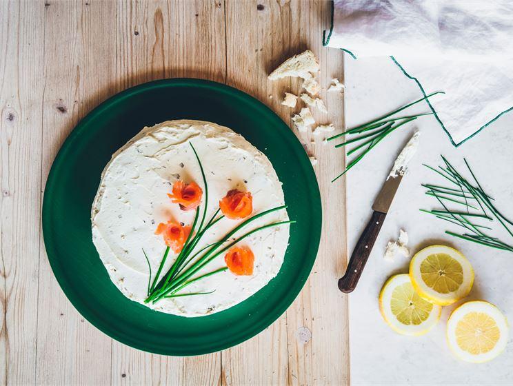 Anni Hautalan merellinen voileipäkakku