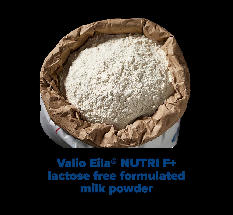Valio Eila® NUTRI F+ lactose free formulated milk protein powder