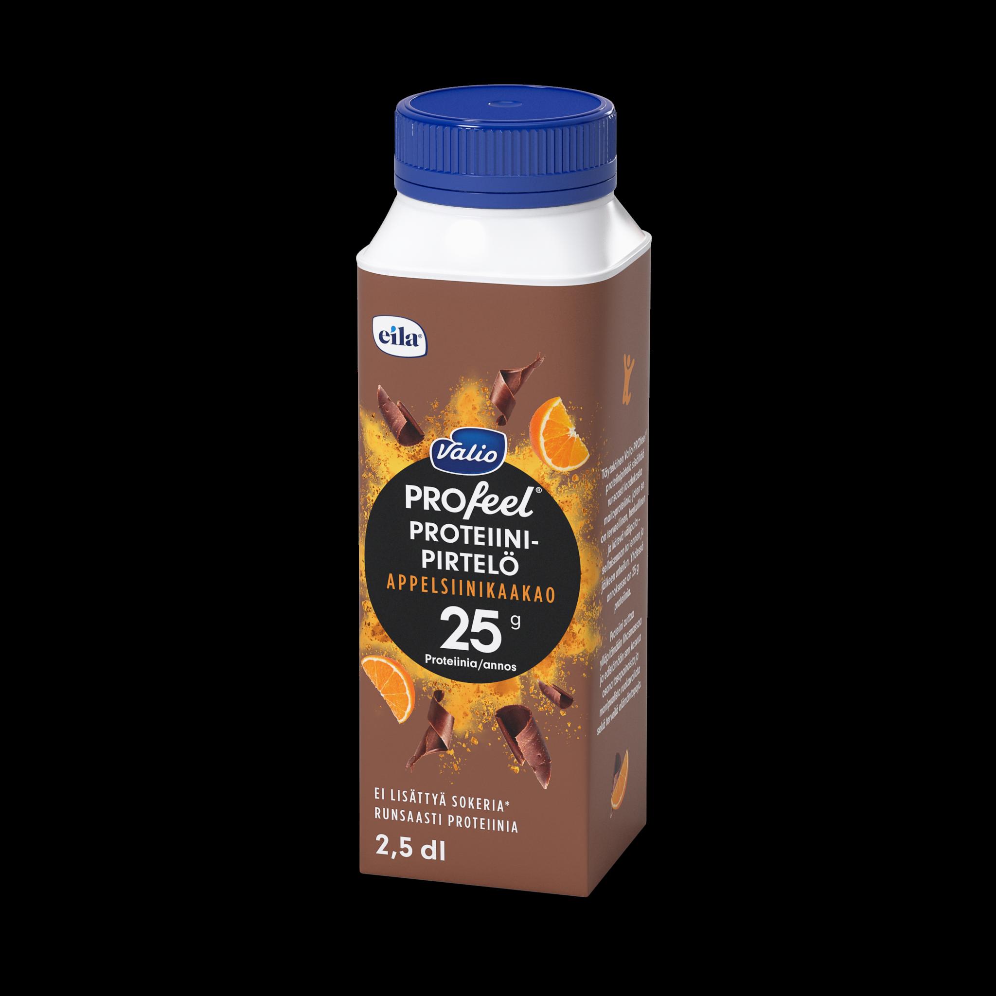 Valio PROfeel® proteiinipirtelö appelsiinikaakao laktoositon
