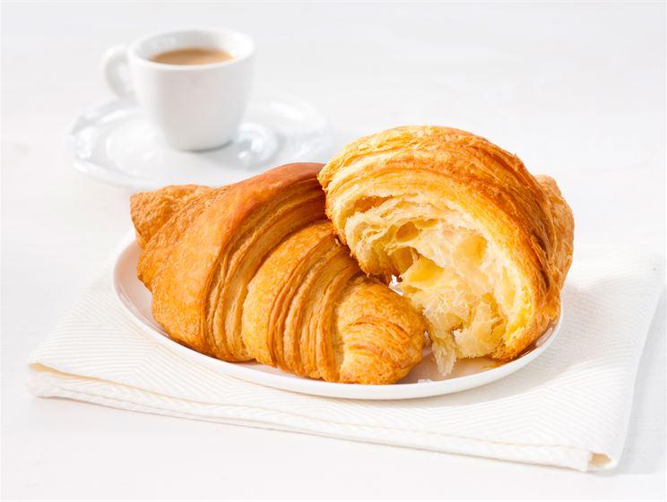 Croissant esitaikinalla
