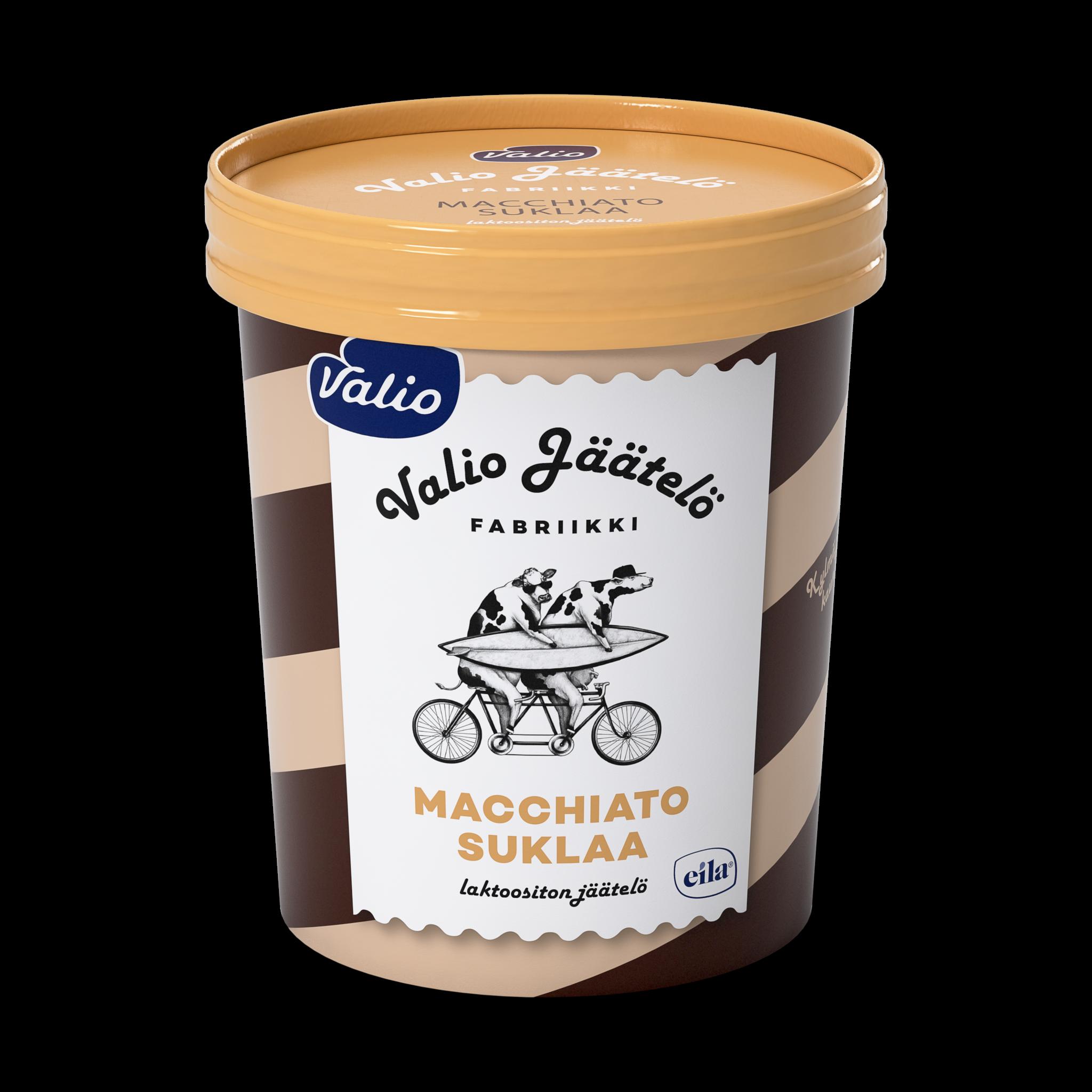 Valio jäätelö macchiato-suklaa laktoositon