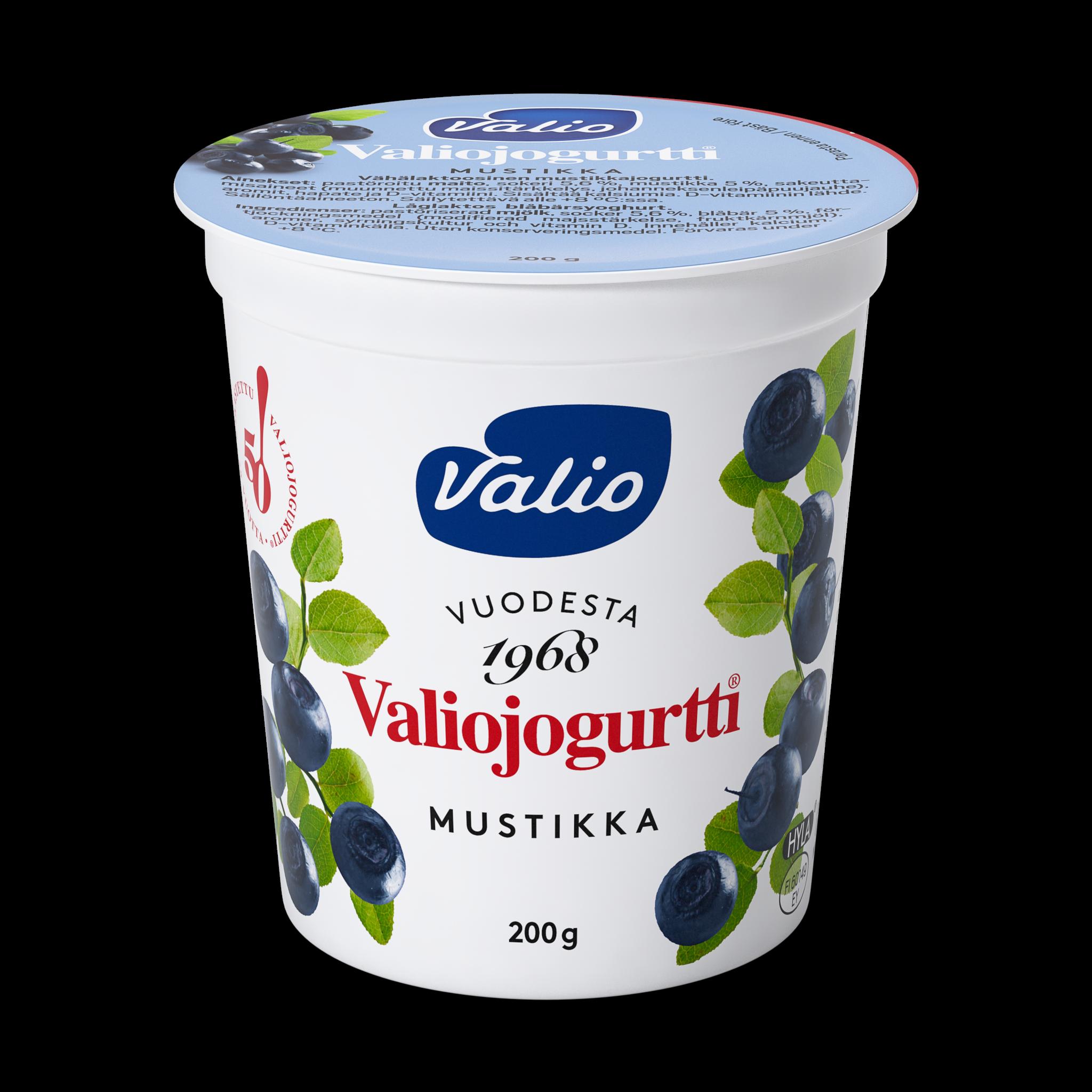 Valiojogurtti® mustikka HYLA®