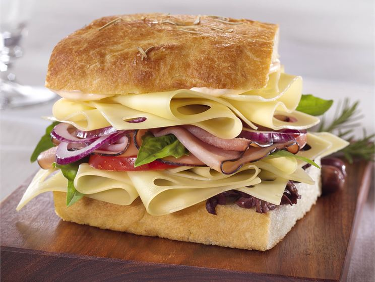 Italian Hogster with Swiss Cheese