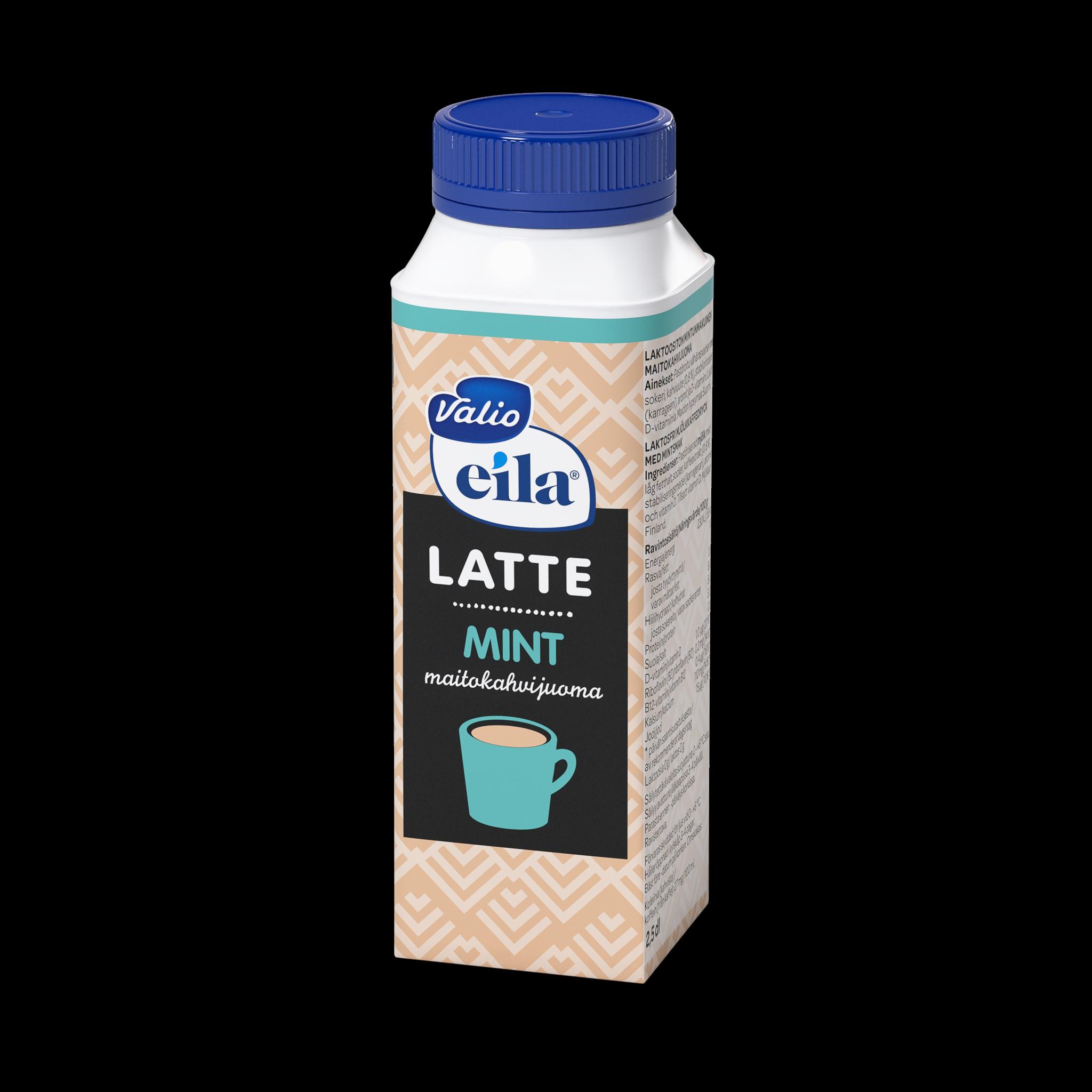 Valio Eila® Latte minttu maitokahvijuoma