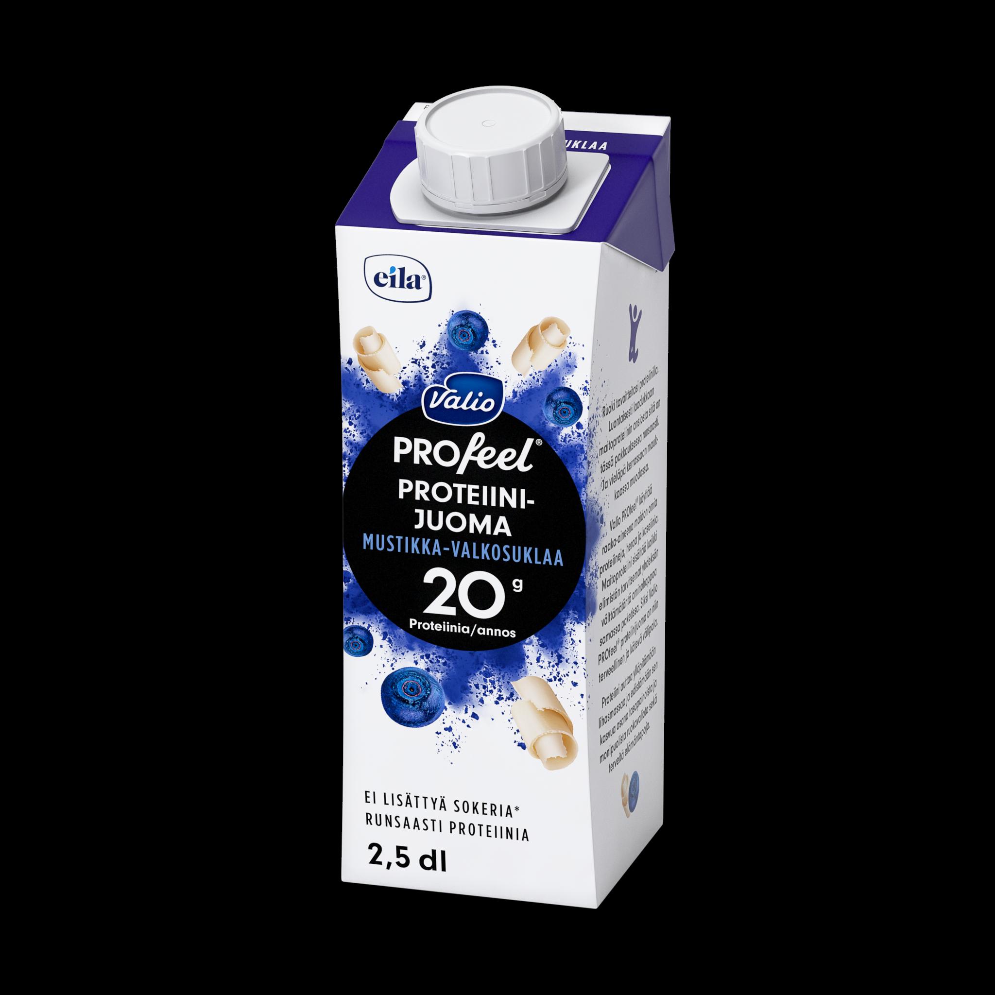 Valio PROfeel® proteiinijuoma mustikka-valkosuklaa