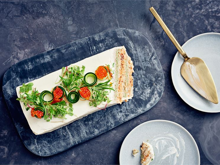 Kotimaisen kalan voileipäkakku