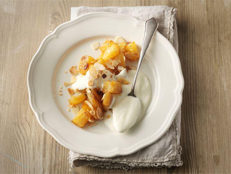 Ananaswokki  & vaniljarahka