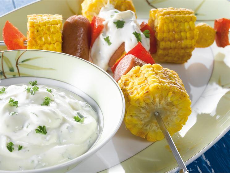 Grillatut maissivartaat