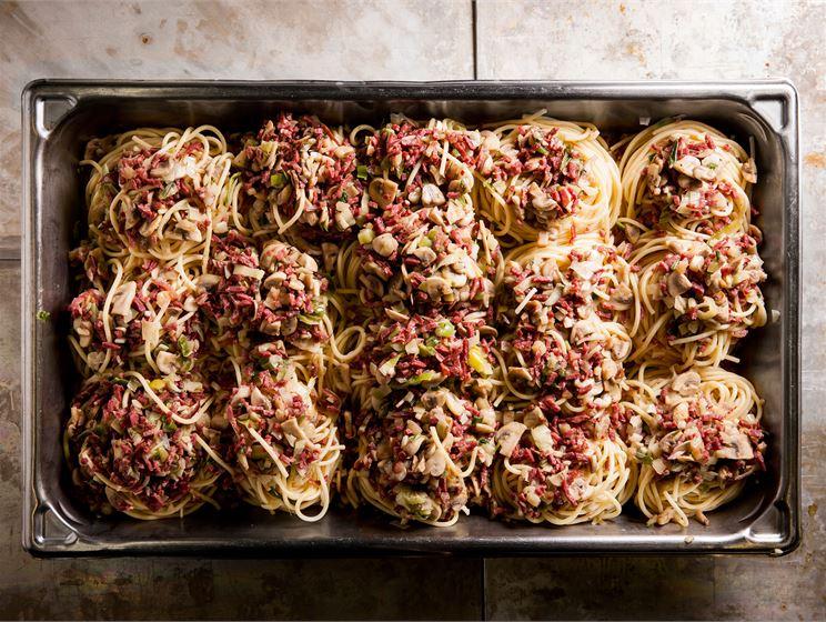 Spagettipesät