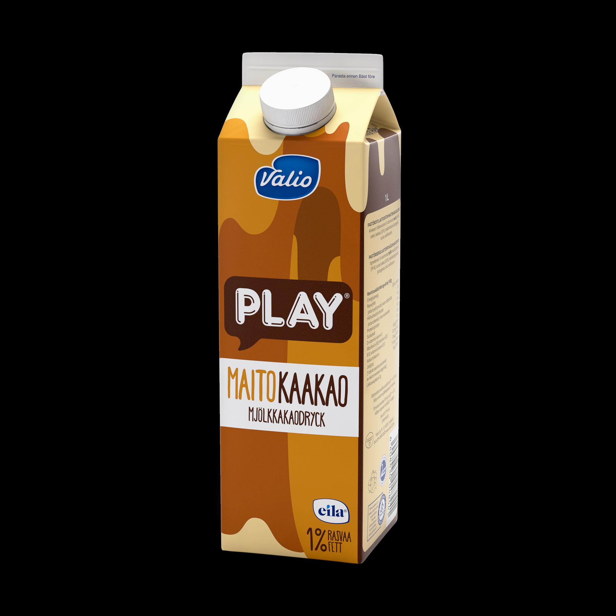 Valio Play® maitokaakaojuoma