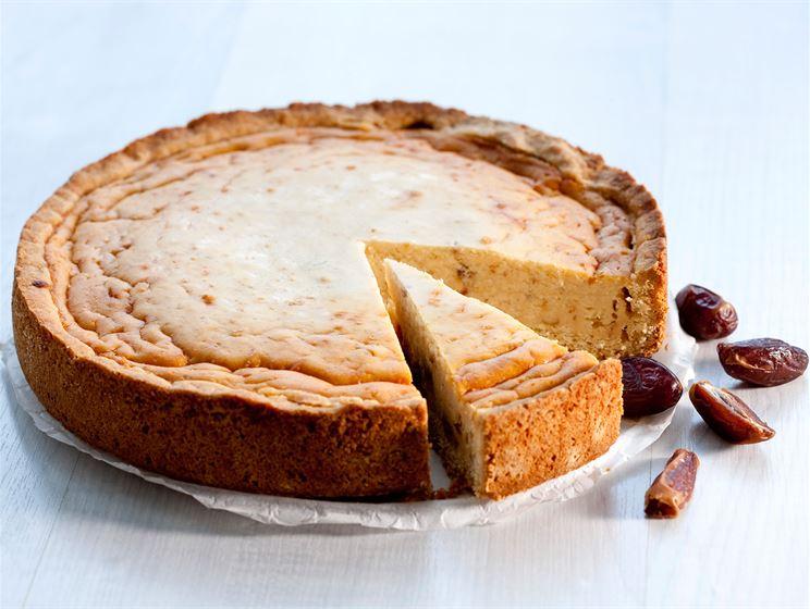 Taateli-juustokakku