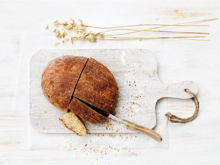 Vegaaninen pähkinäleipä