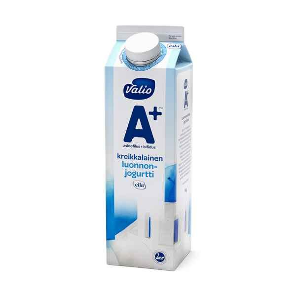 Valio A+™ kreikkalainen luonnonjogurtti laktoositon